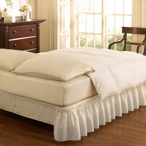 Bed Skirts Dust Ruffles For King Queen Full Twin Size Beds