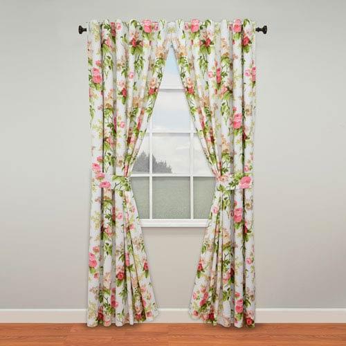 Emmas Garden Blossom 84 x 50-Inch Curtain Panel Pair