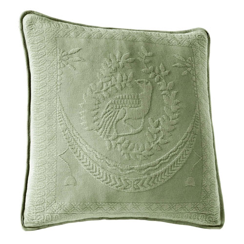 King Charles Sage 20-Inch Decorative Pillow