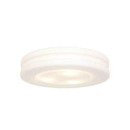 Altum White 10.5-Inch Wide LED Flush Mount
