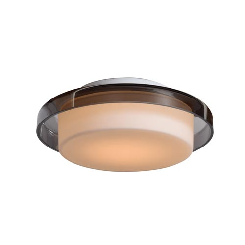 Access Lighting Bellagio White 8-Inch LED Flush Mount