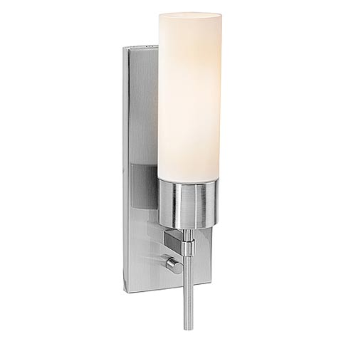 Aqueous Wall Fixture with On/Off Switch
