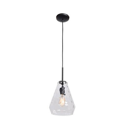 Access Lighting Simplicite Black 9-Inch One-Light Mini Pendant