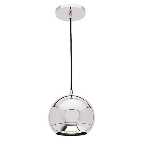 Retro Chrome Ball Mini-Pendant