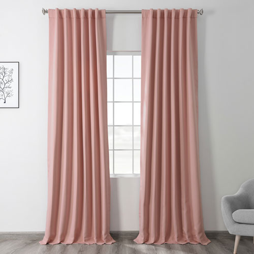 Candy Pink 96 x 50 In. Blackout Curtain Panel Pair