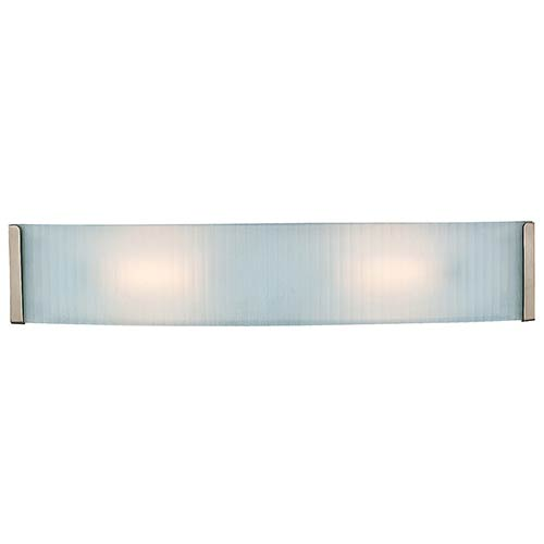 Access Lighting Helium Brushed Steel 24.5-Inch Wide LED Bath Vanity Fixture