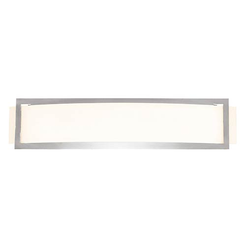 Access Lighting Argon Brushed Steel 22.5-Inch Wide LED Wall Sconce