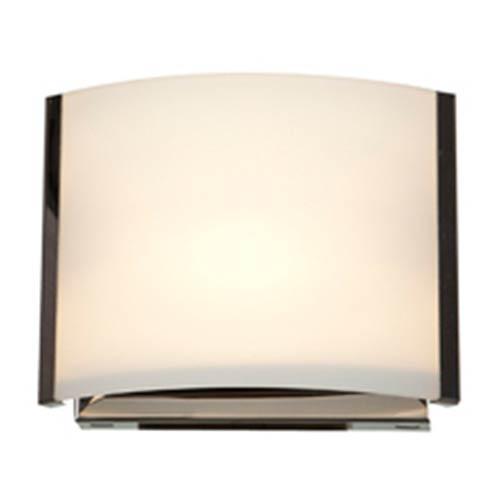 Access Lighting Nitro 2 Brushed Steel One-Light 7-Inch Wide Bath Vanity Fixture