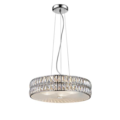 Access Lighting Magari Mirrored Stainless Steel 18-Inch LED Pendant