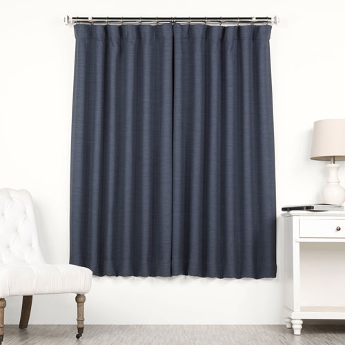 Adventure Blue 63 x 50 In. Blackout Curtain Single Panel