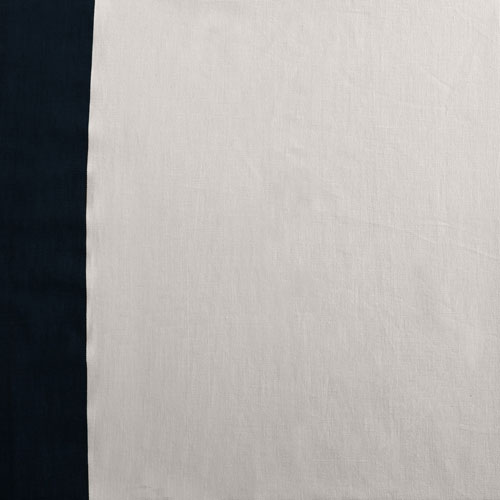 Bright White and Dark Navy Navy Vertical Colorblock Swatch