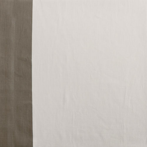 Bright White and Grey Vertical Colorblock Swatch