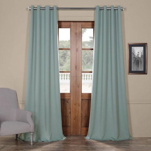 Rose Street Green Berry 84 x 50 In. Grommet Blackout Curtain Panel Set