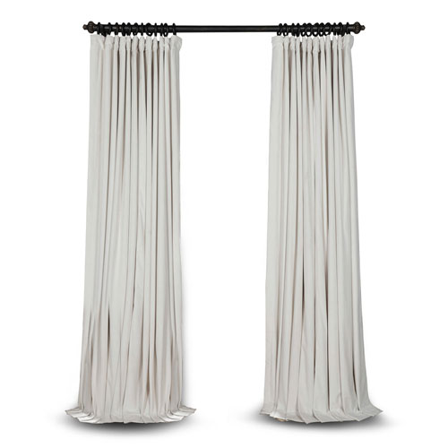 Rose Street Doublewide Off White 100 x 84 In. Blackout Curtain