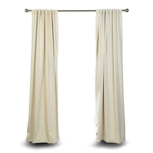 Stone 120 x 50 In. Blackout Curtain Panel Pair