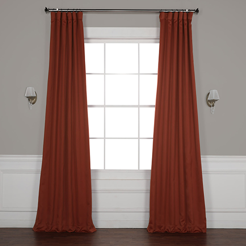 Spiced Berry 96 x 50-Inch Blackout Curtain Panel Pair