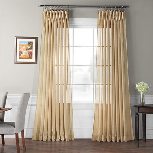 Signature Sheer Curtain Single Panel