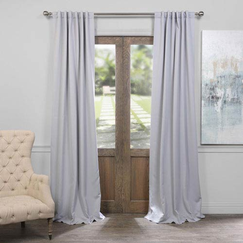Fog Gray 50 x 108-Inch Blackout Curtain