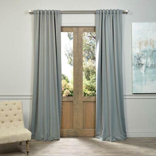 Neutral Grey 50 x 96-Inch Blackout Curtain Pair 2 Panel