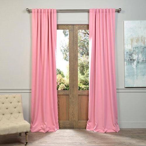 Precious Pink 50 x 108-Inch Blackout Curtain Pair 2 Panel