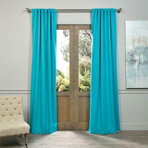 Aqua Curtain Sample Swatch