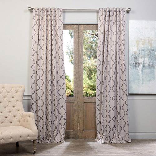 Seville Tan 108 x 50-Inch Blackout Curtain Single Panel