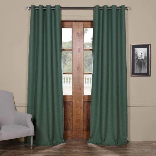 Half Price Drapes Jadite Green 108 x 50-Inch Grommet Bellino Blackout Curtain Single Panel