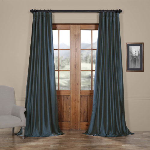 Blue 50 x 108-Inch Curtain