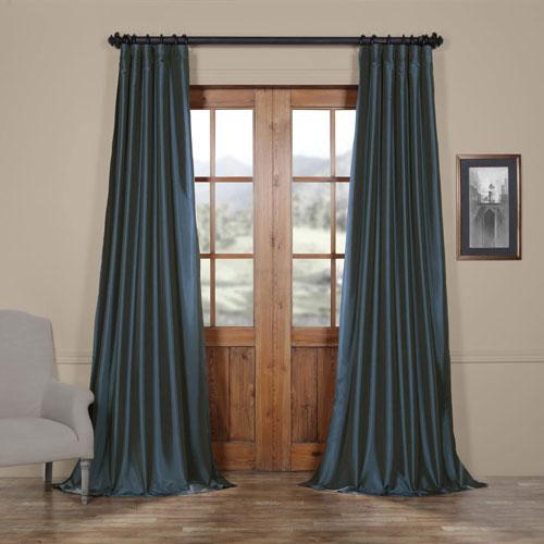 Half Price Drapes Blue 50 x 96-Inch Curtain