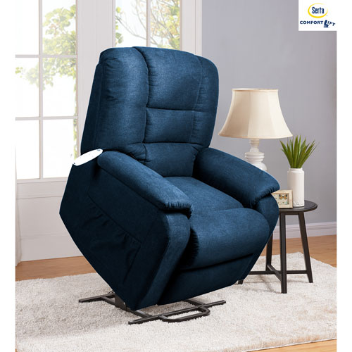 Comfort Lift Raeburn Recliner in Navy
