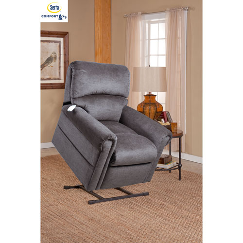 Comfort Lift Scarlett Recliner in Grey