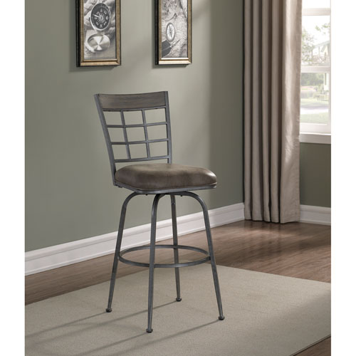 American Woodcrafters Biscayne Bar Stool