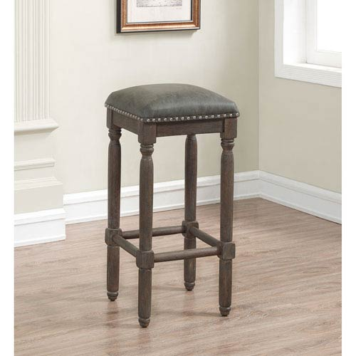 American Woodcrafters Bronson Backless Bar Stool