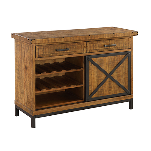 River Station Rustic Brown Buffet