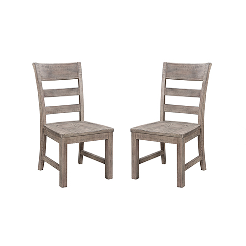 Hayden Charcoal Dining Chair, Set 0F 2