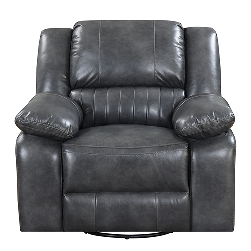 Selby Gray Swivel Reclining Glider