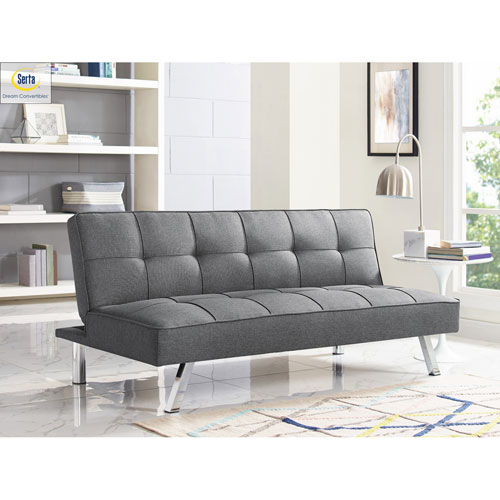 Cambridge Charcoal Convertible Sofa