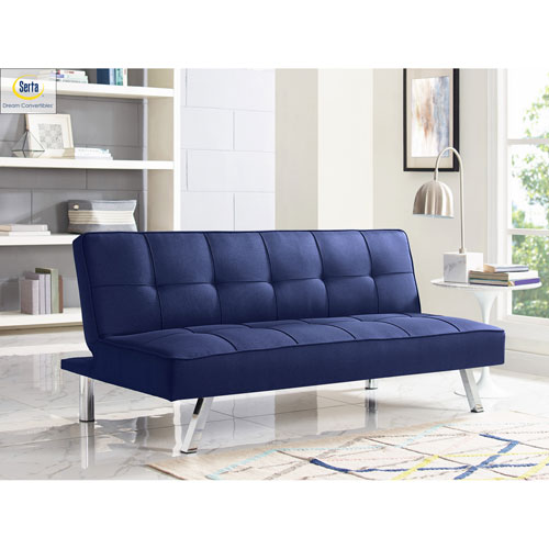Cambridge Navy Convertible Sofa