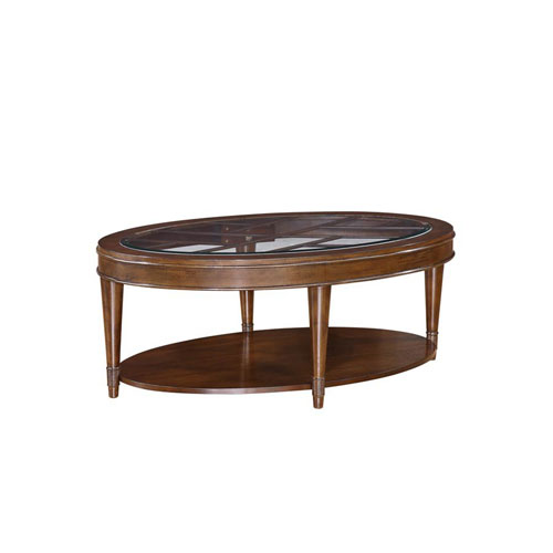 Emerald Home Furnishings Harmony Oval Cocktail Table