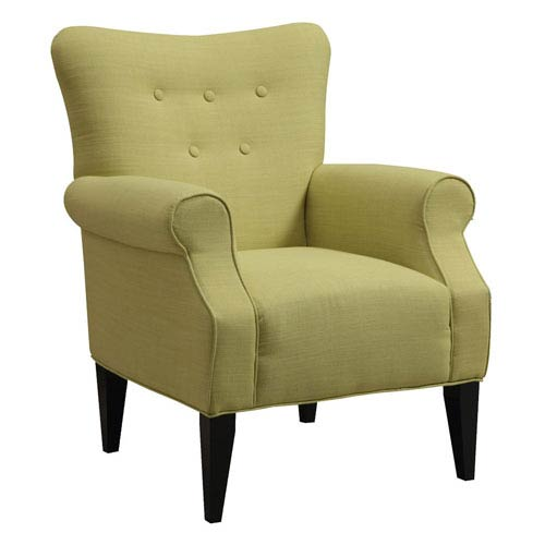 Emerald Home Furnishings Lydia Accent Chair Citrine