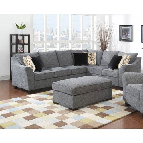 Linden 2-Piece Left Side Facing Sofa with Two Pillows