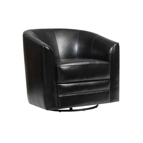 Milo Swivel Chair Black