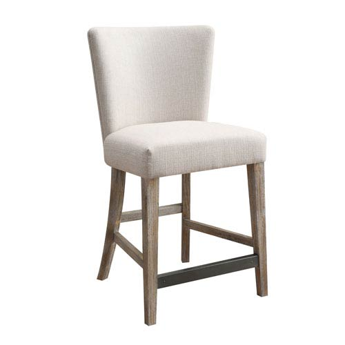 Emerald Home Furnishings Synchrony Gather Barstool Upholstered Seat
