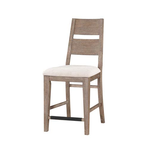 Emerald Home Furnishings Viewpoint 24-inch Barstool with Upholstered Seat Set of 2