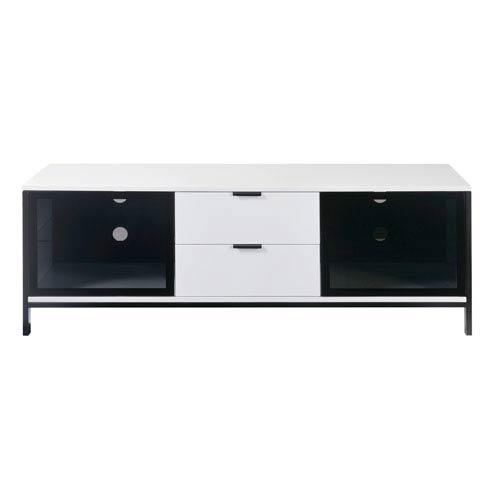 Emerald Home Furnishings Modern Tv Console White