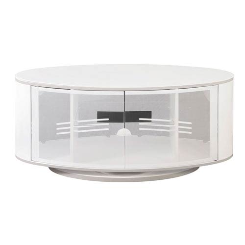 White High Gloss Tv Stand Bellacor