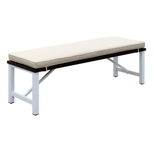 Emerald Home Mountain Side Beige Dining Bench