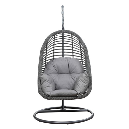 High Quality Emerald Home Furnishings San Marino Hanging Basket Chair Spuncrylic