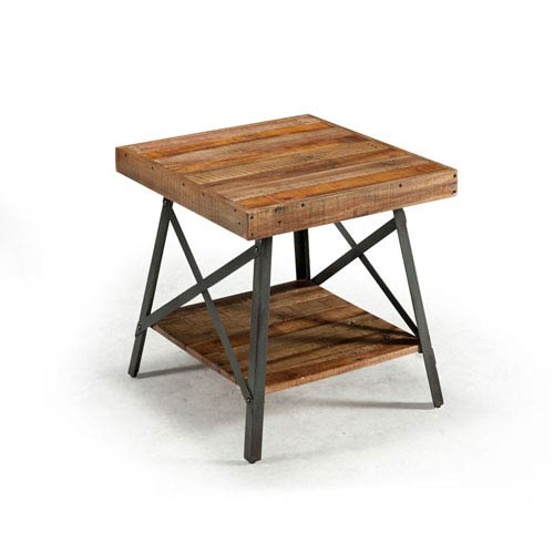Emerald Home Furnishings Chandler Reclaimed Wood End Table