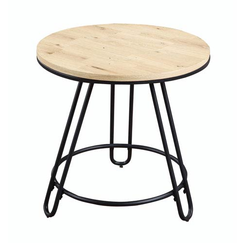 Emerald Home Furnishings Penbrook Round End Table